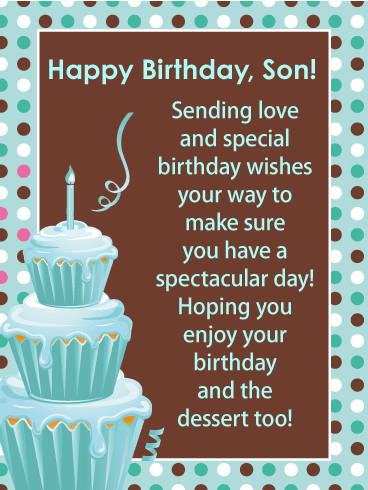 Wondrous 130 Best Happy Birthday Wishes For A Son 2019 Quotes To Send Funny Birthday Cards Online Bapapcheapnameinfo