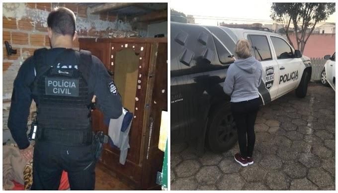 Polícia Civil cumpre mandados contra homicidas e traficantes em Quedas