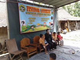 Festival Swakarsa Aksara Syndicate di Desa Lembu, Bancak