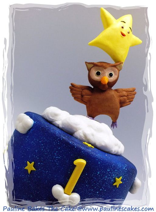 Pauline Bakes The Cake Twinkle Star Amp Owl Balancing Act