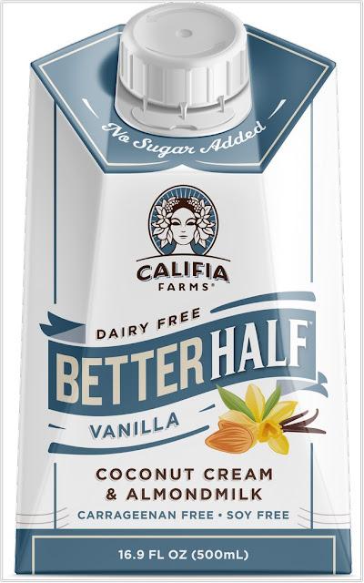 Califia Farms Vanilla Better Half Coffee Creamer;Lactose-Free Coffee Creamer;