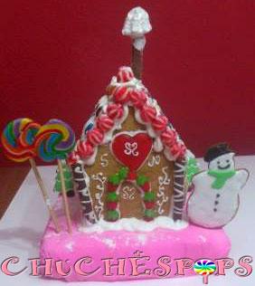 Chuchespops casa jengibre de chocolate y chuches for Casa jengibre
