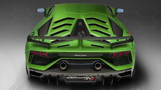 Preview Lamborghini Aventador SVJ 2019: Rear Exterior