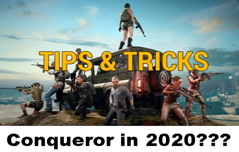 PUBG Mobile, Tips and Tricks, Reach Conqueror