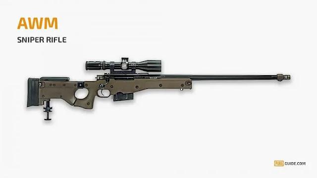 best sniper rifles pubg mobile season 17