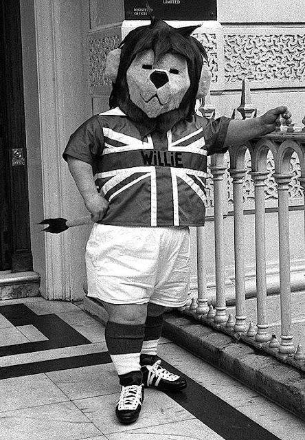 Willie, Primera Mascota del Mundial de Futbol año 1966 Inglaterra