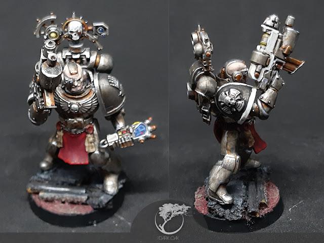 Iron Hands Devastator Squad sergeant