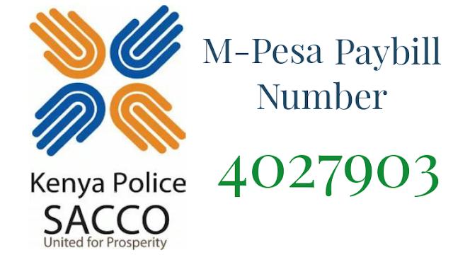 Kenya Police Sacco Paybill