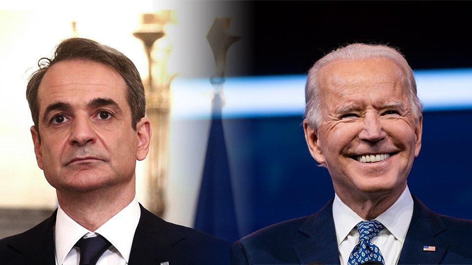 Επικοινωνία Μητσοτάκη-Μπάιντεν: Ελλάδα και ΗΠΑ στρατηγικοί εταίροι