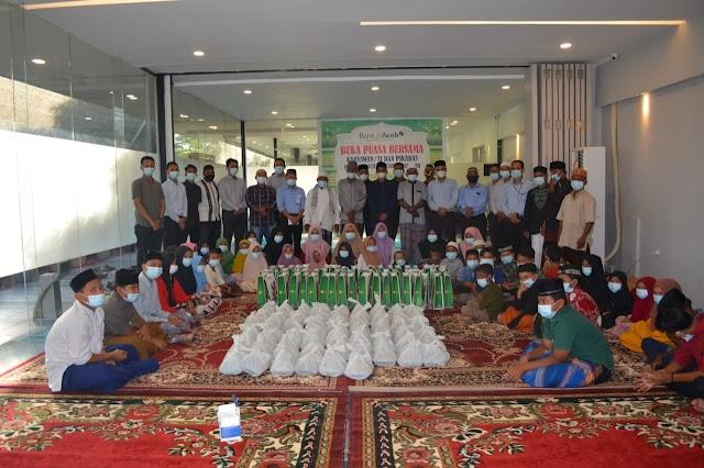 Bank Aceh Syariah Idi Salurkan Bantuan Sembako, Menyantuni Anak Yatim, Berbagi Takjil dan Masker di Bulan Ramadhan Ini