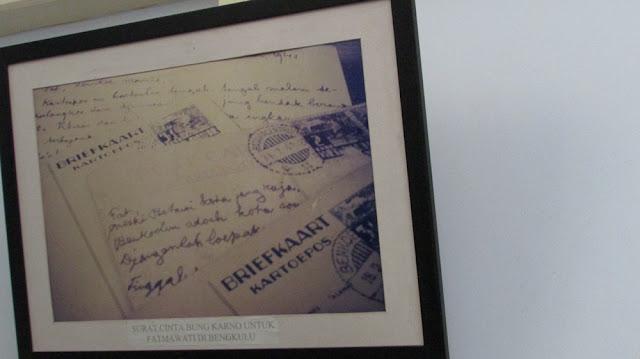 Foto Surat Cinta Soekarno untuk Fatmawati