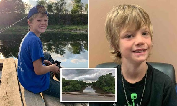 Hero boy, 10, dies saving his five-year-old sister after she fell into a river