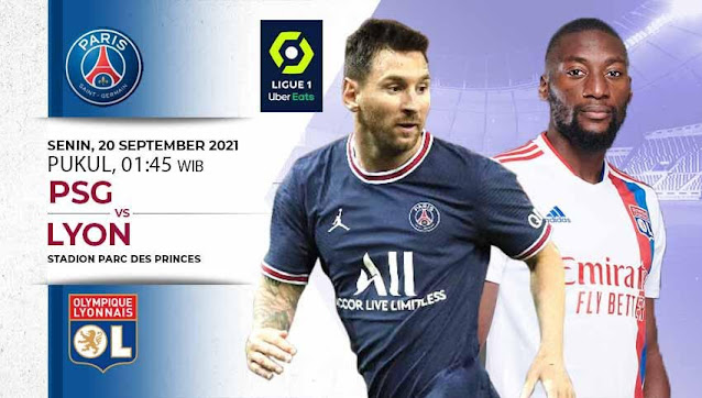 Prediksi Liga Prancis : PSG vs Lyon