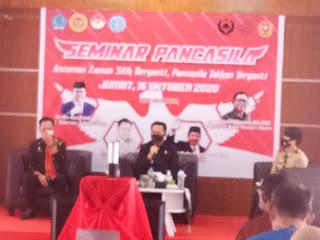 Pjs. Gubernur Agus Fatoni Berikan Materi  Terkait Pancasila Kepada Siswa IPDN Sulut