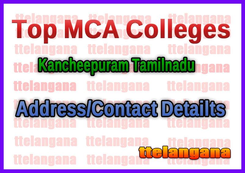 Top MCA Colleges in Kancheepuram Tamilnadu