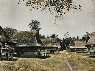 rumah di pedesaan kabanjahe