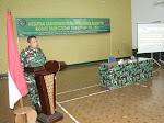 Perkuat Silahturahmi, Kodim 0609/Cimahi Gelar Komsos Dengan Keluarga Besar TNI