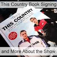 Two copies of the book This Country with the title overlaid