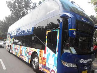 Bus Tingkat Wisata Jakarta Persembahan AkzoNobel