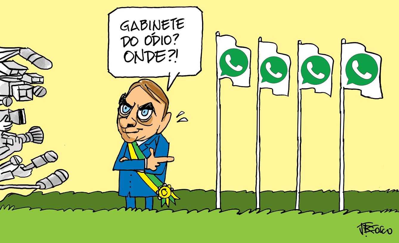 Gabinete do ódio ajuda a inchar número de cargos do Planalto ...