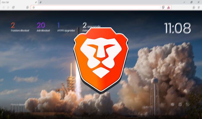Brave Internet Browser Free Download, Iklan Di Web Langsung Musnah