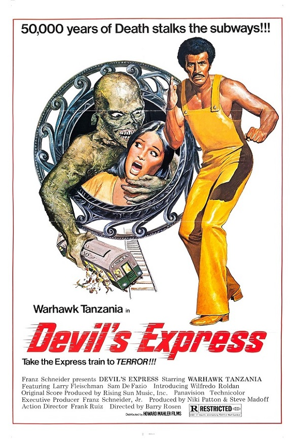 Devil's Express movie poster
