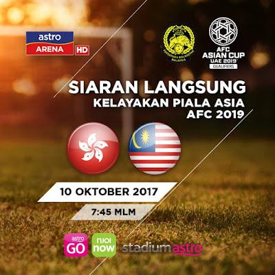 Live Streaming Malaysia vs Hong Kong 10 Oktober 2017