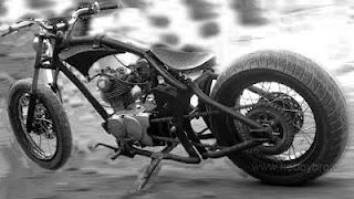 88 Gambar modifikasi motor cb 100 150 chopper klasik ala harley japstyle airbrush cafe racer paling keren