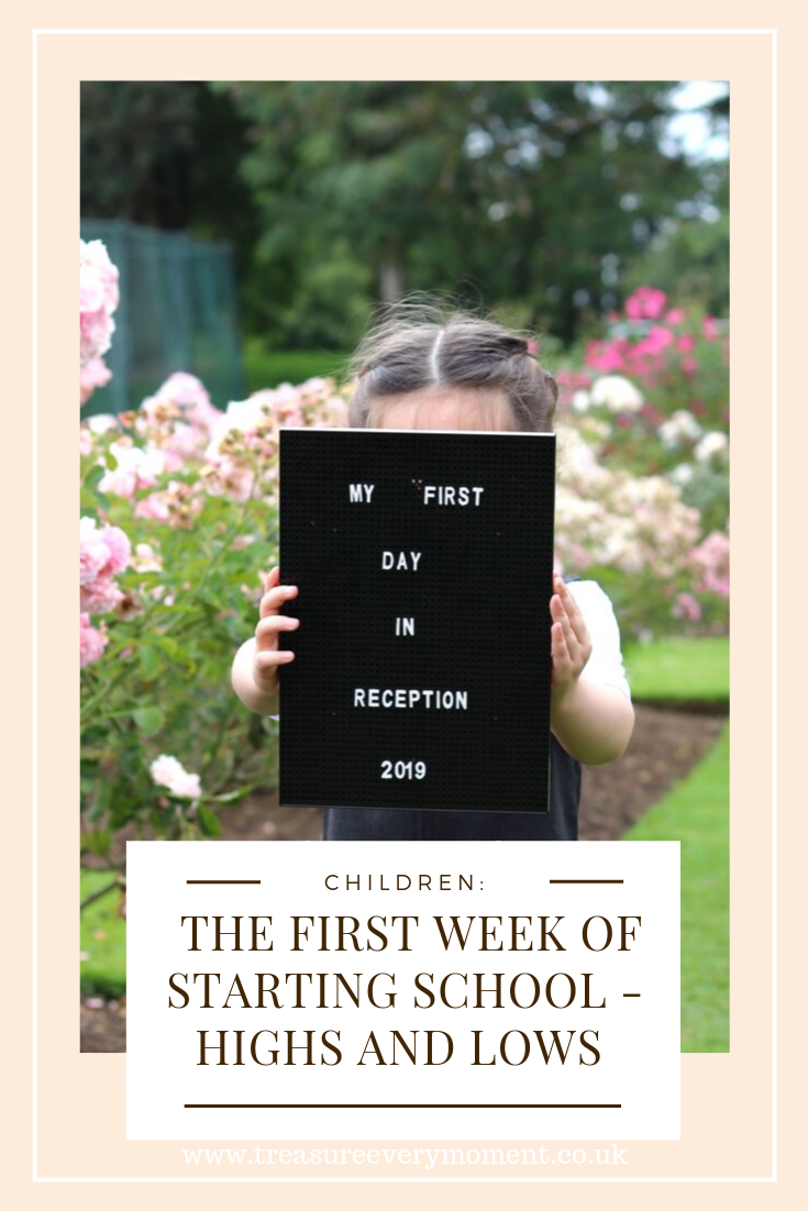 CHILDREN: The First Week of Starting School - Highs, Lows and Everything In-Between