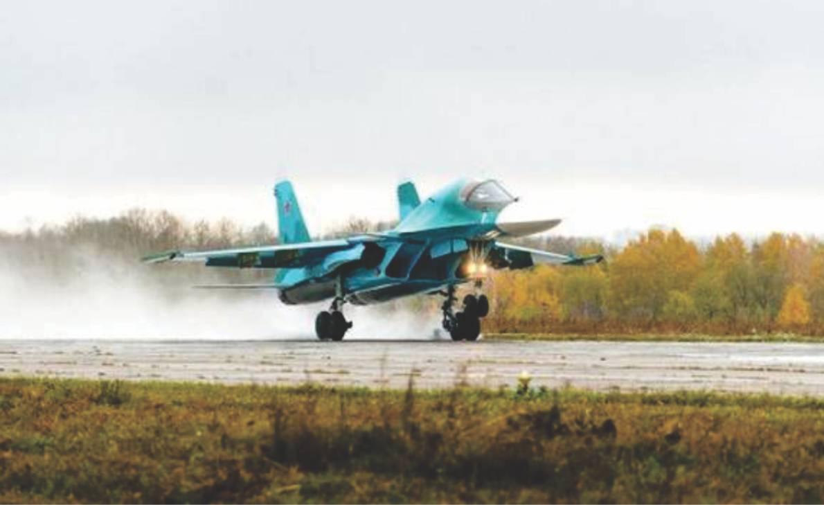 Angkatan Udara Rusia menerima batch kedua Su-34