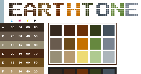 projectncy: Little beauty diary : Earth tones
