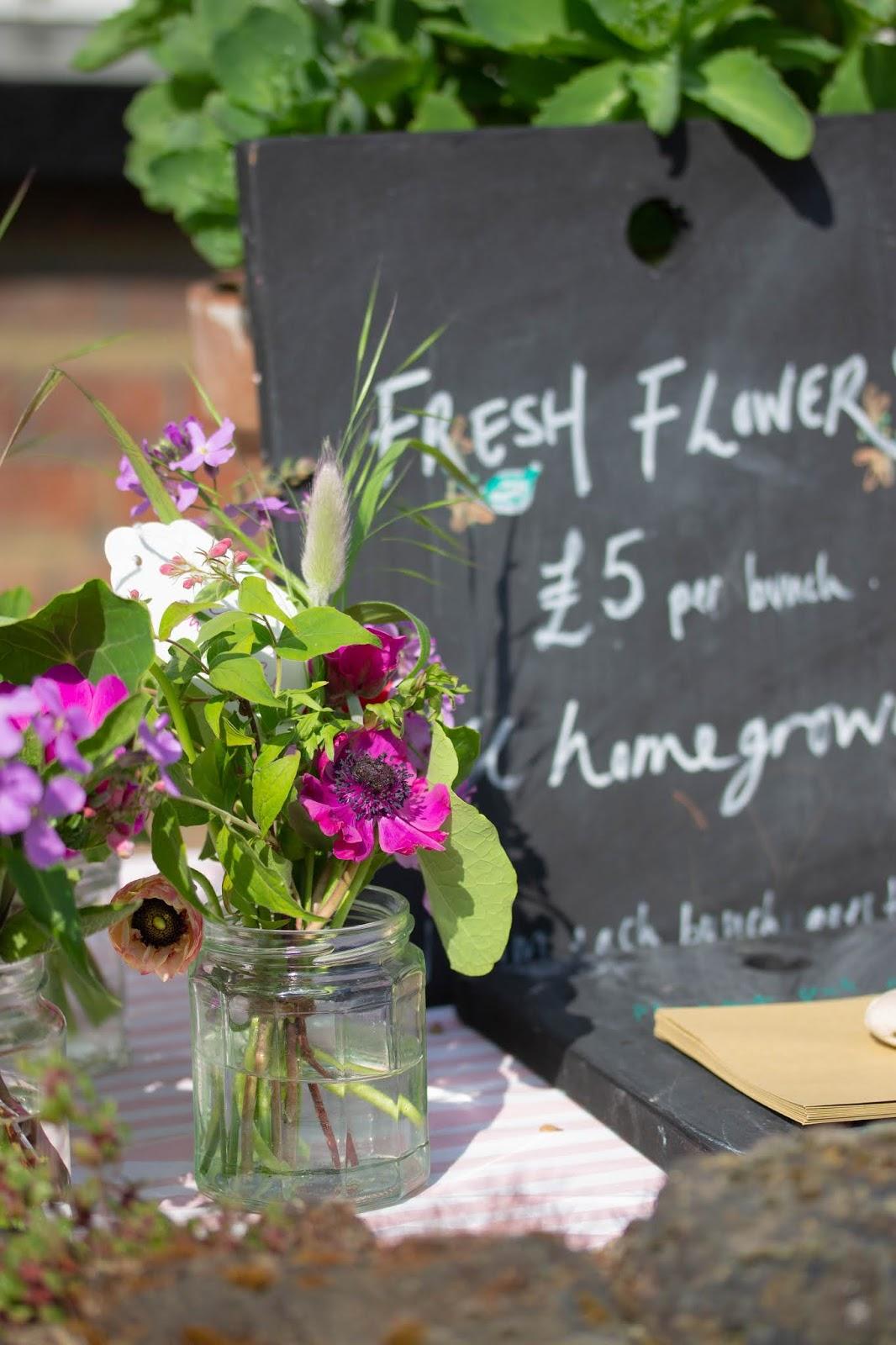 My flower stall