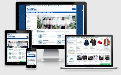 Desain Toko Online Profesional