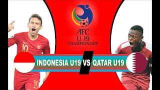 Qatar U19 vs Indonesia U19  Live Streaming Today 21-10-2018 U19 Asian Cup
