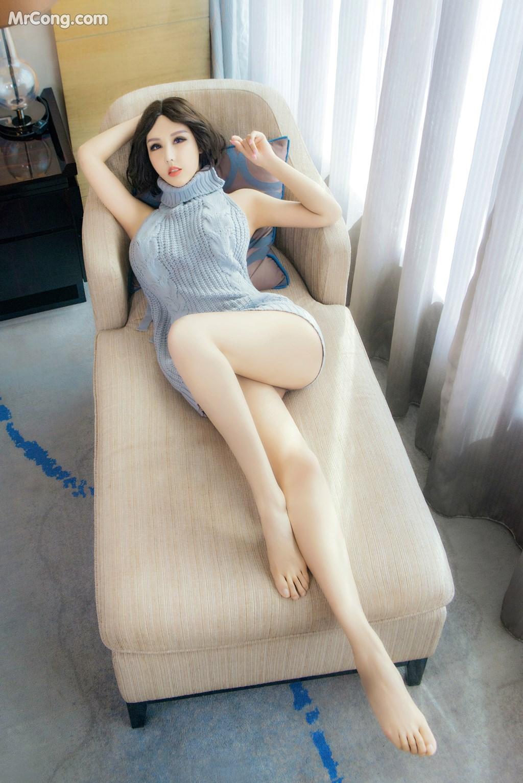 Image SLADY-2017-05-27-No.011-Na-Yi-Ling-Er-MrCong.com-002 in post SLADY 2017-05-27 No.011: Người mẫu Na Yi Ling Er (娜依灵儿) (54 ảnh)