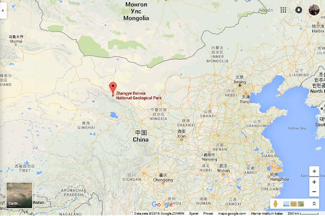 Zhangye Danxia, China