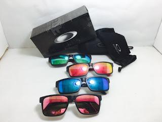 Kacamata Sunglass Frame Oakley Clip On Warna