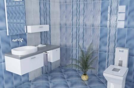 صور ديكورات سيراميك ارضيات وجدران الحمامات الصغيره