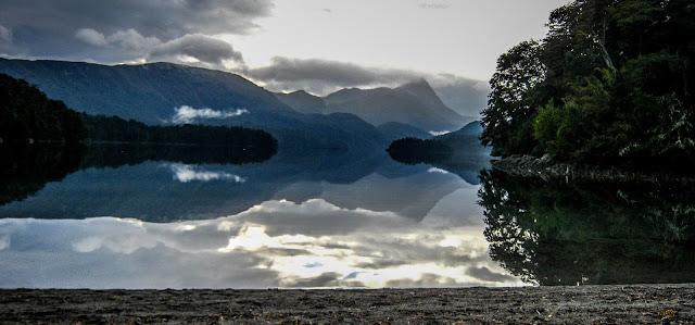 Lago Espejo, Los Siete Lagos, Neuquen, Argentina