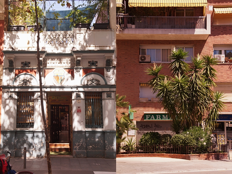 Barcelona Spanien Fassaden Häuser Architektur Sommerurlaub Katalonien Reisetipps Sehenswürdigkeiten