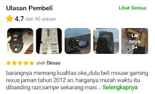 Gambar Review Mouse Wireless Rexus Xierra RX 110
