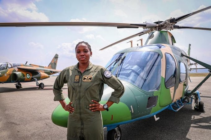 First Ever Female Combat Pilot in Nigeria Just Died