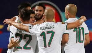 انتهت مباراة الجزائر والنيجر بفوز منتخب الجزائر باربعه اهداف دون رد
