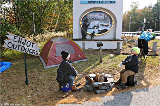 Deportistas Calabaza en New Hampshire