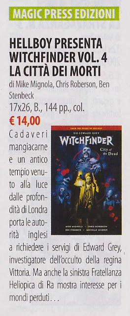 Witchfinder: la città dei morti