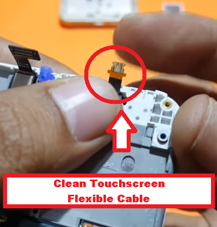 Clean Touchscreen Flexible Cable