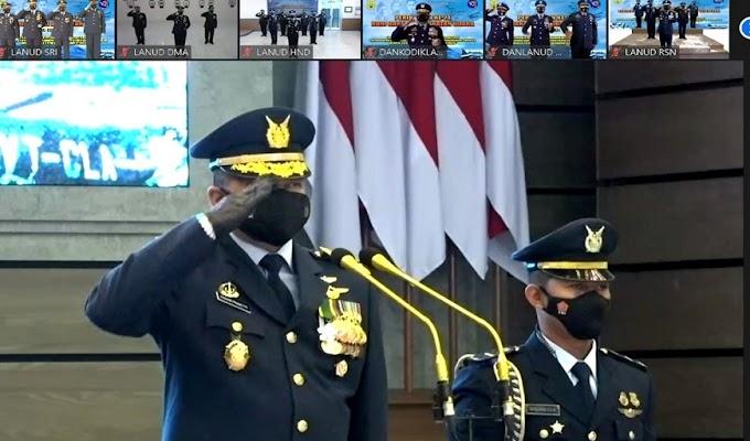 Ziarah Makam Pahlawan Peringatan Hari Bhakti TNI AU di Pangkalan TNI AU Sam Ratulangi Digelar dengan Sederhana dan Khidmat