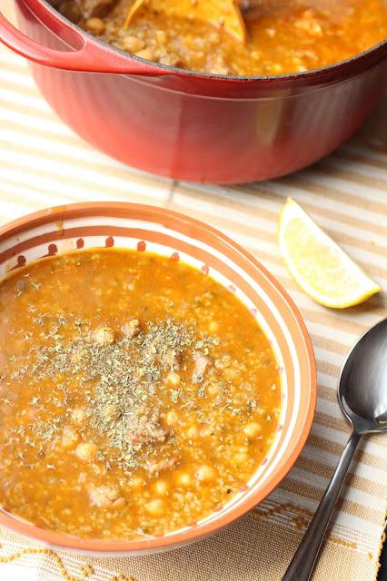 soupe algerienne agneau