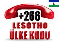 +266 Lesotho ülke telefon kodu