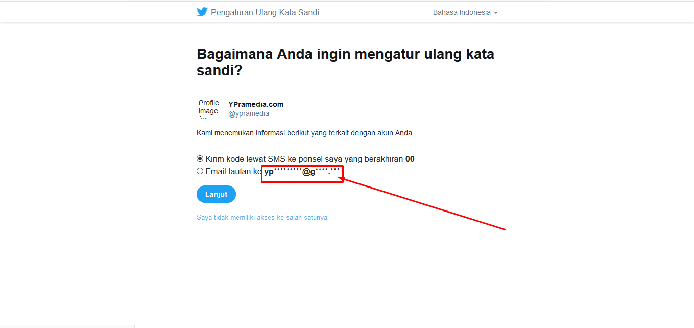 6 Cara Mengetahui Email Akun Twitter Orang Lain